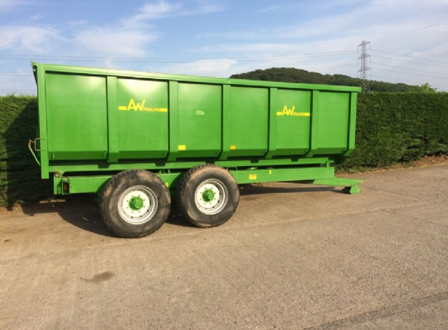 AW Trailers 12 Tonne Grain Trailer - SOLD