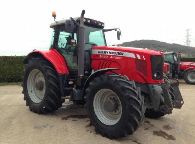 Massey Ferguson MF 6499 T3 Transport Spec